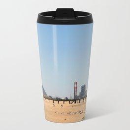 Power Station Beach Travel Mug