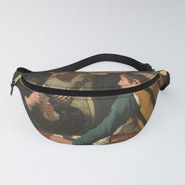 "Michelangelo Merisi da Caravaggio ""Cardsharps"" Fanny Pack"