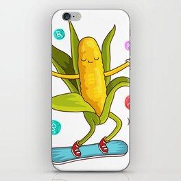 Snowboarding Corn iPhone Skin