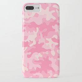 Pink Camouflage iPhone Case