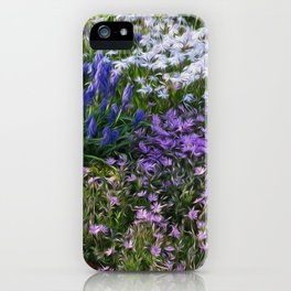 Painterly Strokes iPhone Case