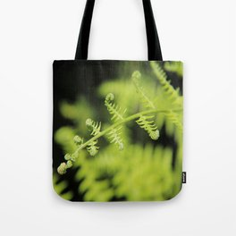 Unfurling Fern Tote Bag