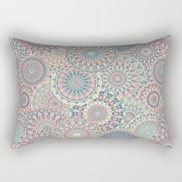 Mandala (Floral 002) Rectangular Pillow