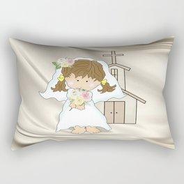 My Little Barefoot Bride Rectangular Pillow