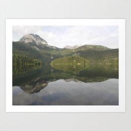 Is it reflection or is it me? Art Print
