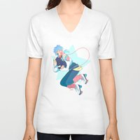 dmmd V-neck T-shirts featuring Aoba by Meex Art