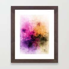 Zero Visibility Rebirth Framed Art Print