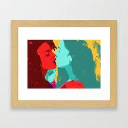 Live your life. Framed Art Print