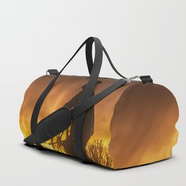 Fisherman's Memorial Sunset Duffle Bag