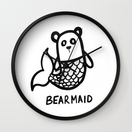 Bearmaid Wall Clock