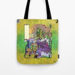 Bloom: An Awakening - The Holy Divinity Marius Janus Gifting the Bloom Shard Tote Bag