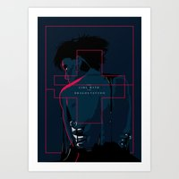 The girl with dragon tattoo - alternative movie poster Art Print