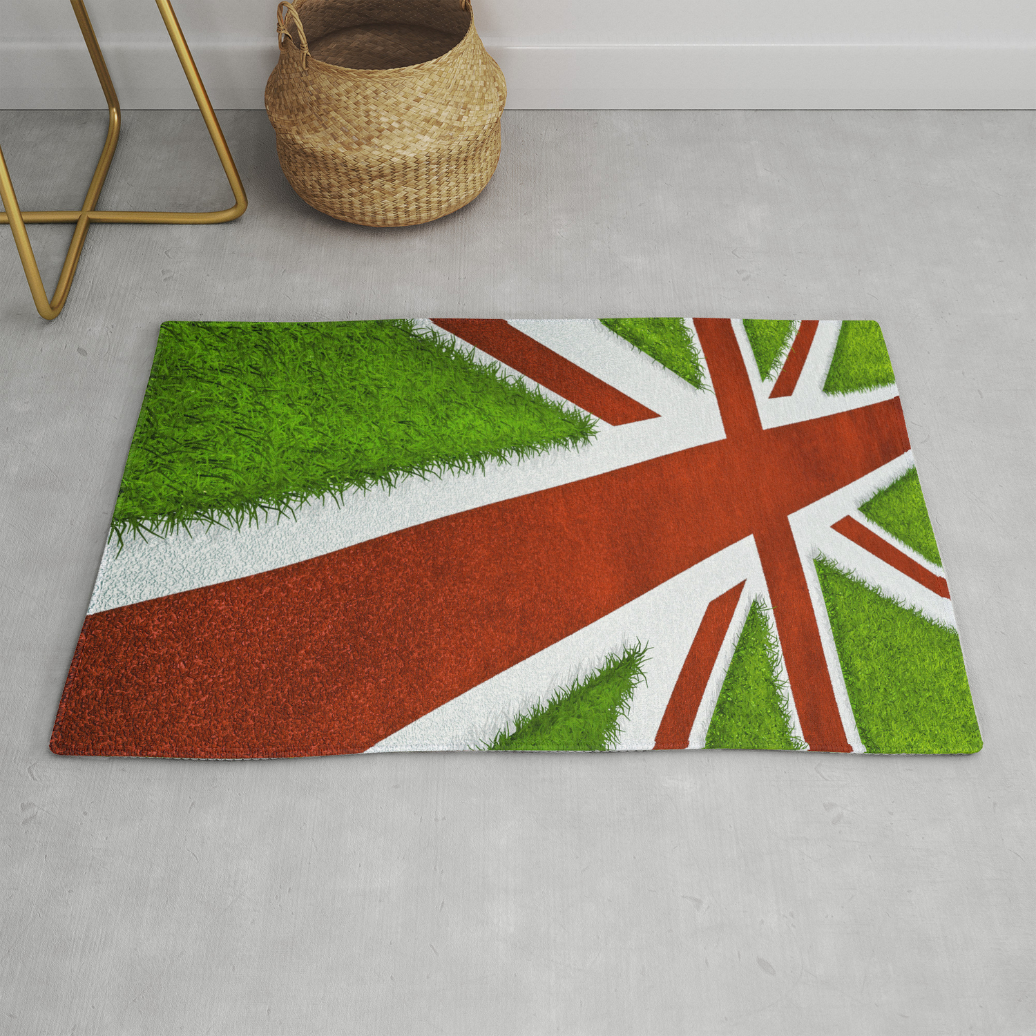 UK track and field Rug by grandeduc