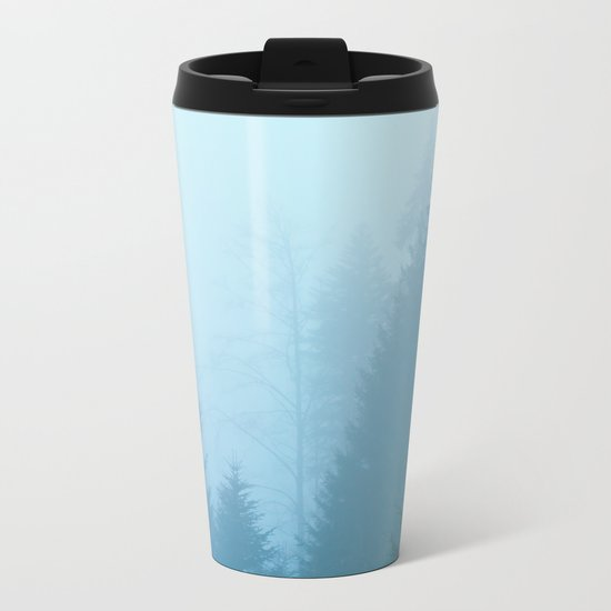 Forest Mist Metal Travel Mug
