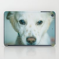 best friend iPad Cases featuring Man's Best Friend by Sharon RG Photography