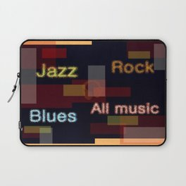 ALL MUSIC Laptop Sleeve
