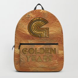Golden Years - Gold Backpack