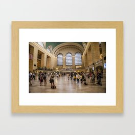 Main Concourse Framed Art Print