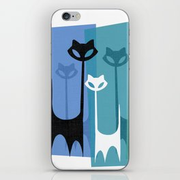 Kitty Cats Tuned In And Receiving iPhone Skin
