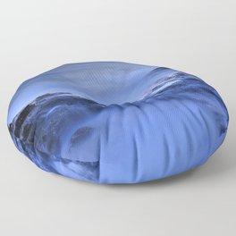 Blue seaside Floor Pillow