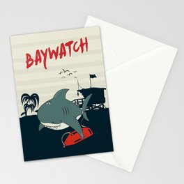 Baywatch  Stationery Cards