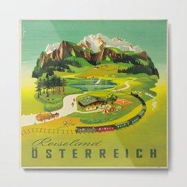Vintage poster - Austria Metal Print