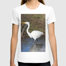 Just Right (Great Egret) T-shirt