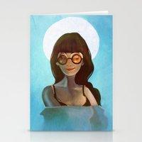 daria Stationery Cards featuring Daria by gapinska