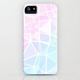 Pastel Triangles 1 iPhone Case