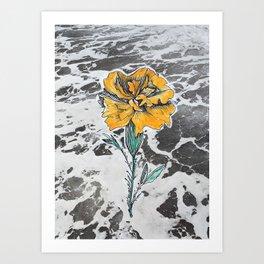Mari Goldie Art Print
