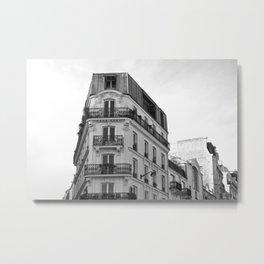 Cityscape Paris Metal Print