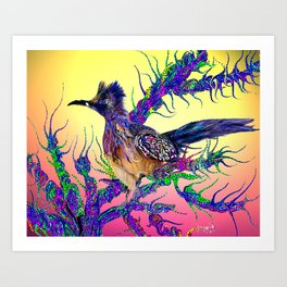 road runner Art Print