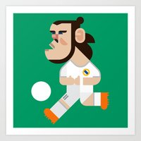 GB11 Mini | Los Blancos Art Print