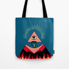 The All Seeing Eye Fieri  Tote Bag