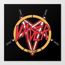 Vader Slayers Logo Canvas Print