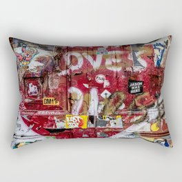 Graffiti NYC Rectangular Pillow