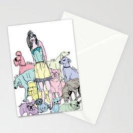 dog life Stationery Cards