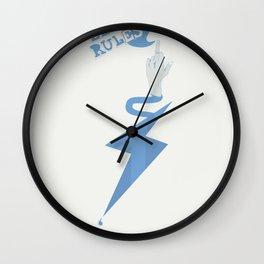 Elan Rules Wall Clock