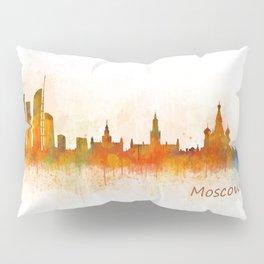 Moscow City Skyline art HQ v3 Pillow Sham