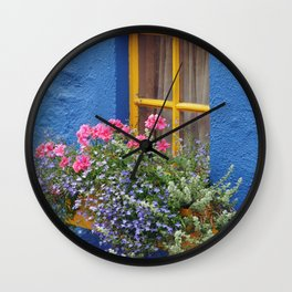 Blue House -Ireland Wall Clock