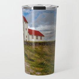 Chapel of Iceland Travel Mug