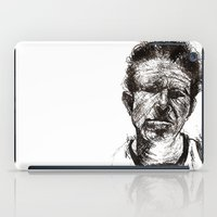 tom waits iPad Cases featuring Tom Waits Bad As Me  by b_ethany