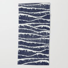 wavesss Beach Towel