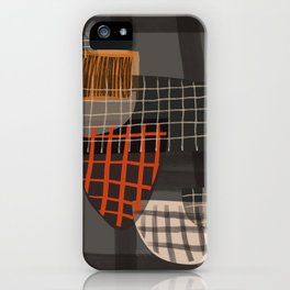 Grids 1 iPhone Case