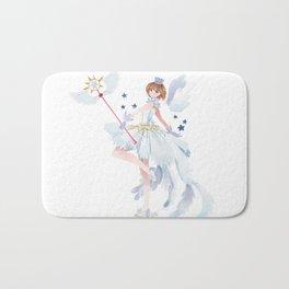 Clear card Bath Mat