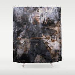 unconquerable ragnar Shower Curtain