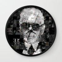 karl Wall Clocks featuring Karl Lagerfeld by Artstiles