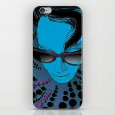 Wanda Blue Aqua iPhone & iPod Skin