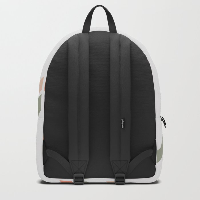 Geometric Confetti (Rose Garden) Backpack