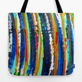 Tribal Stripes  Tote Bag